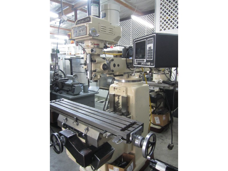 Cnc Knee Amp Bed Mills Chevalier Pro 32h Cnc Knee Mill W