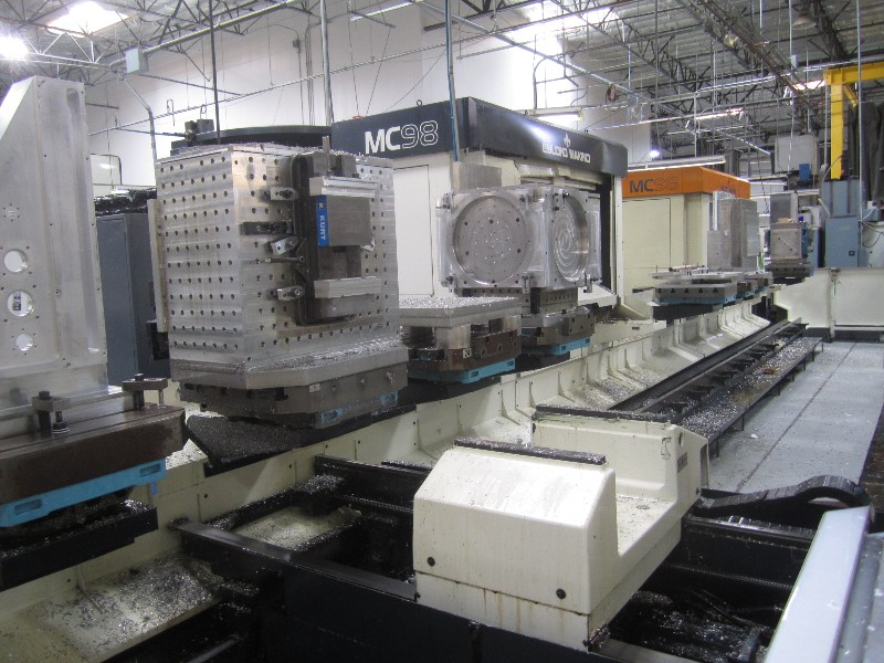 Cnc Machining Centers 2 Leblond Makino Mc 98 Cell